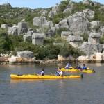 Sea kayaking - kekova - Turkey